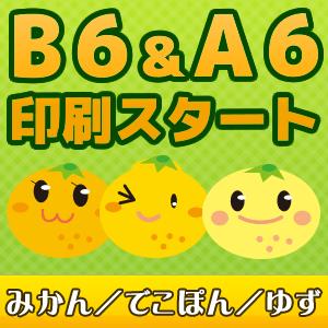 B6/A6文庫サイズ・新書サイズご利用方法